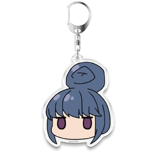 Anime Yuru Camp△ Nadeshiko Rin Aoi Chiaki Ena Acrylic Keychain Keyring