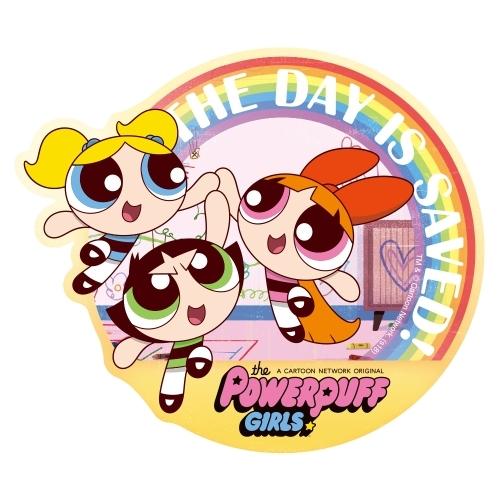 cdjapan the powerpuff girls travel sticker 5 collectible