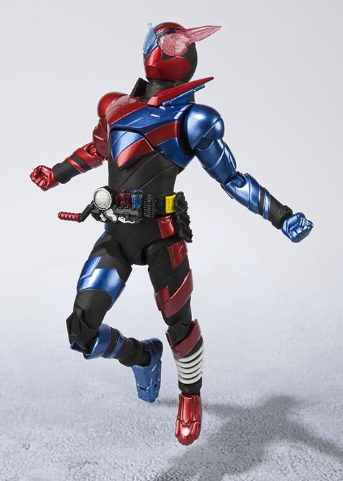 Kamen Rider Build Figure S.H.Figuarts Rabbit tank form 20 Kicks PVC Figure Toy