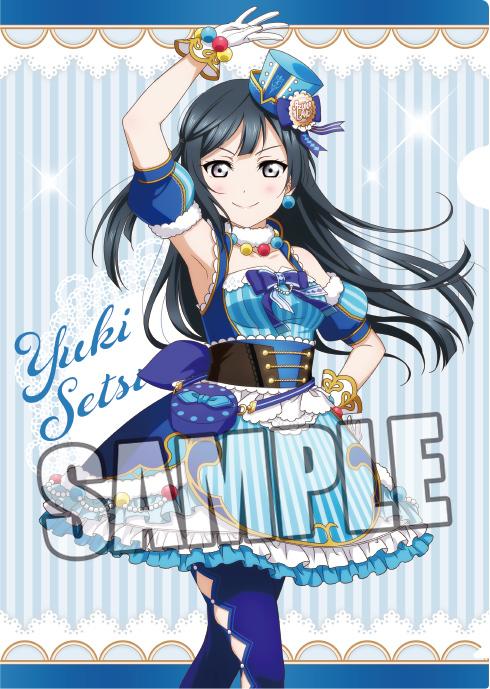 Nijigasaki High School Clear Folder Set 【SEGA Collab Cafe Limited】 Love Live