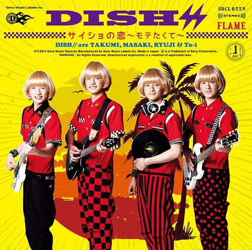 [Album/Single] DISH - FLAME