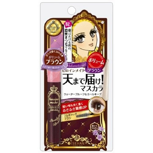 Kiss Me Heroine Make Volume & Curl Mascara Brown 6g  Cool Japan Selection Collectible