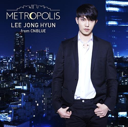 cdjapan metropolis regular edition lee jong hyun from cnblue