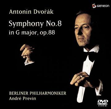 CDJapan Dvorak Symphony No8 Andre Previn Conductor Berlin Philharmonic Orchestra DVD