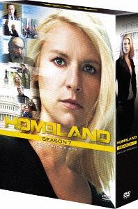 Homeland Season 7 DVD Collector's Box