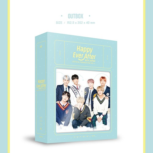 BTS Japan Official Fanmeeting Vol 4 [Happy Ever After] [Limited Release]