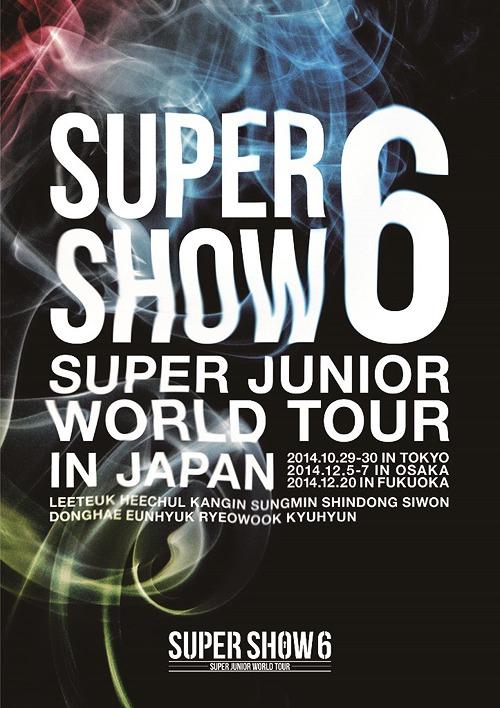 SUPER JUNIOR World Tour Super Show 6 in Japan [Regular Edition]