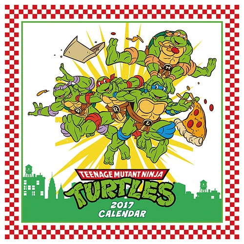 Cdjapan teenage mutant ninja turtles calendar 2017 try x ltd cdjapan teenage mutant ninja turtles calendar 2017 try x ltd animation collectible voltagebd Gallery