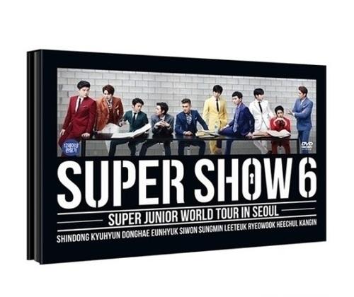 Super Show 6: Super Junior World Tour In Seoul [2DVD/Import Disc]