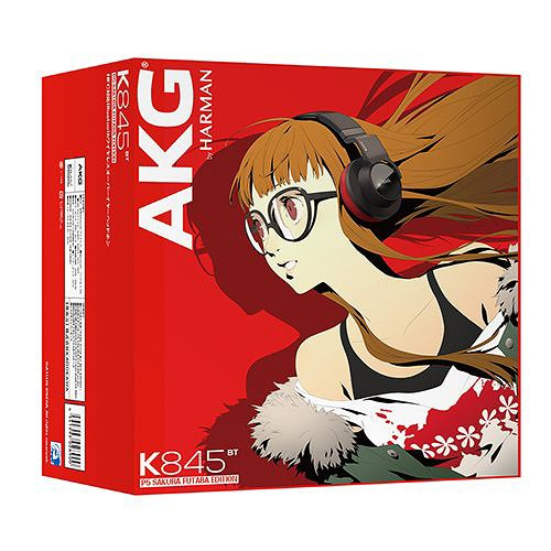 akg headphones futaba. cdjapan : second hand wireless headphone akg k845bt p5 sakura futaba edition collectible akg headphones futaba e