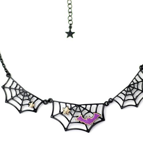 CDJapan : Spider-Web Necklace (F) LIS-431601-B LISTEN