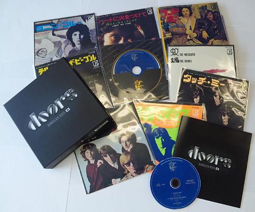 CDJapan : The Doors Singles Box [Cardboard Sleeve (mini LP
