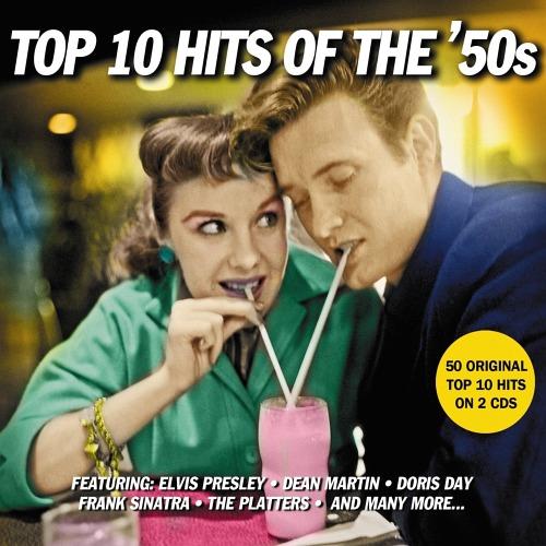cdjapan top 10 hits of the 50s 2cd import disc v a cd album