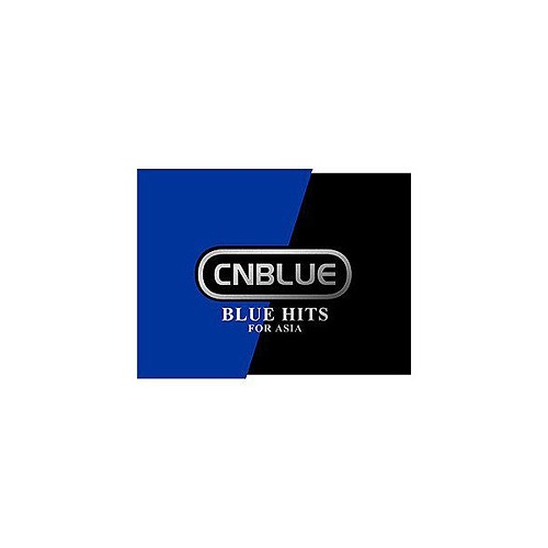 CNBLUE / BLUE HITS FOR ASIA (Taiwanese luxury version) (CD + DVD) Taiwan  board CINA BLUE