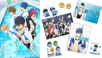 """Free!"" Series Books & Collectibles from Kyoani Shop Available for International Order [Proxy Shopping Feature]"