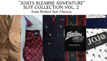 """""""JoJo's Bizarre Adventure"""" Suits Collection Vol. 2 from Perfect Suit FActory [Proxy Shopping Feature]"""