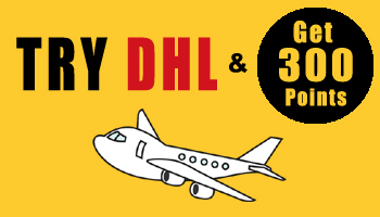Try DHL & Get Limited-Time Bonus Points! *Expired