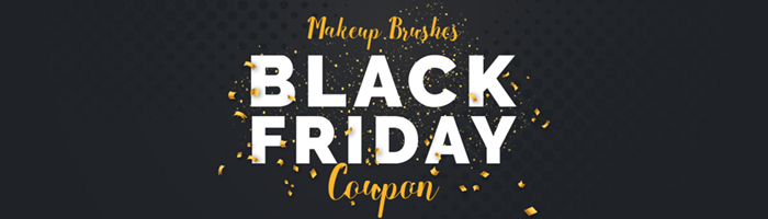 Makeup Brushes Black Friday Coupon!