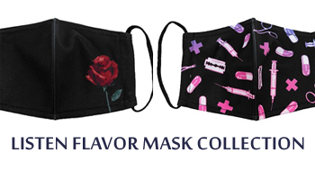 LISTEN FLAVOR Masks Collection Now on Pre-order!