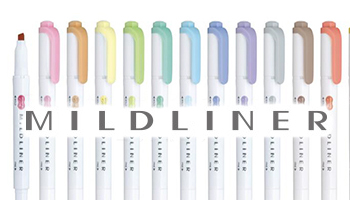 Mildliner Highlighter & Brush Pens