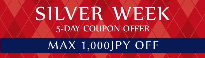 Silver Week Special Coupon Offer