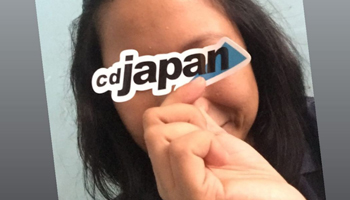Customers' Voices to CDJapan's First Official Sticker