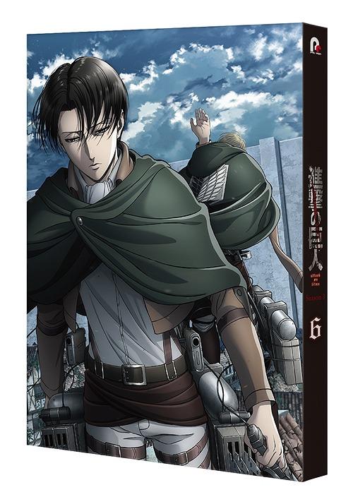 CDJapan : Attack On Titan (Anime) Season 3 Vol.6 Animation ...