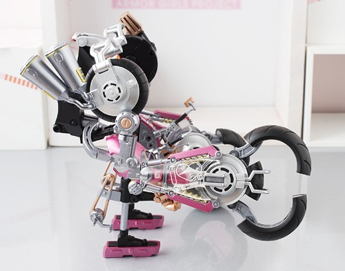 Armor Girls Project Super Sonico with Bike 10th Anniversary ver. Figure Japan
