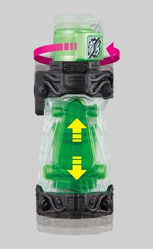 Kamen Rider Build DX Penguin Skater Full Bottle Set Japan