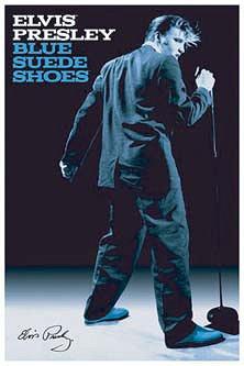 CDJapan : Elvis Presley / Blue Suede Shoes Poster Elvis Presley ...