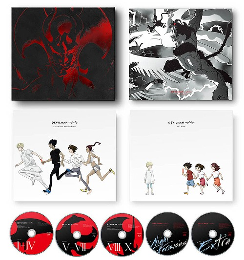 Cdjapan Devilman Crybaby Complete Box Limited Release English Subtitles Animation Blu Ray